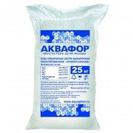 Фирменная соль Аквафор 25 кг